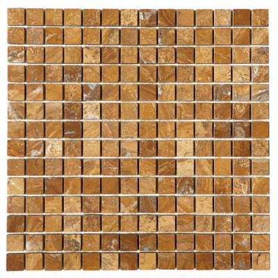 Autumn Gold 0.78x0.78 Polished Mosaic