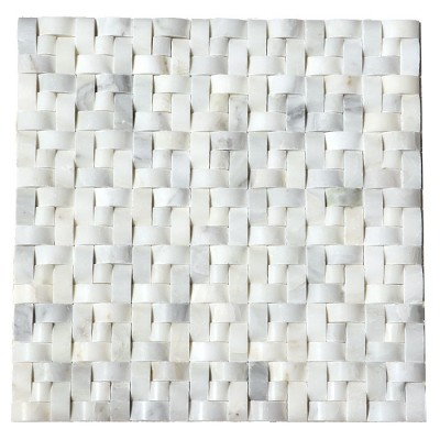Arabescato Carrara Interwoven 12x12 Polished