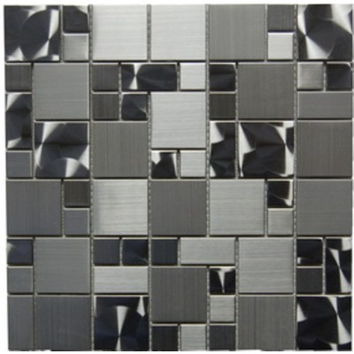 Stainless Steel 12x12 Magic Pattern Mosaic
