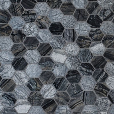 Henley 2x2 Hexagon Mutli Finish Mosaic