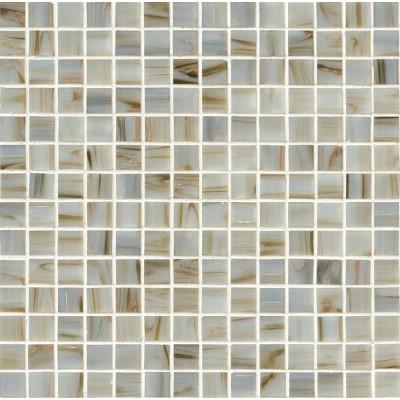 Ivory Iridescent 3/4x3/4x4MM