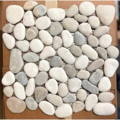 Jave 12X12 Interlocking Sea Pebble Tile