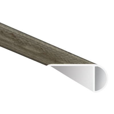 Katella Ash / Woodrift Gray 2-3/4X94 Vinyl Overlapping Stair Nose
