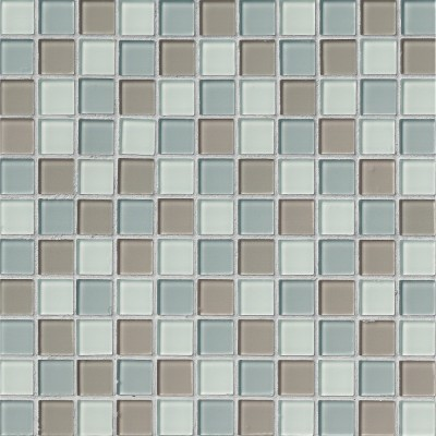Majestic Ocean 1x1x4MM Glass Mosaic