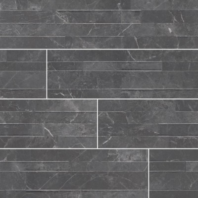 Midnight Mount 6X24 Matte Porcelain Ledger Panel