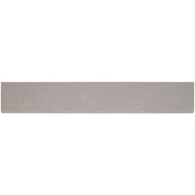 Optima Grey Bullnose 4x24 Matte Porcelain Tile
