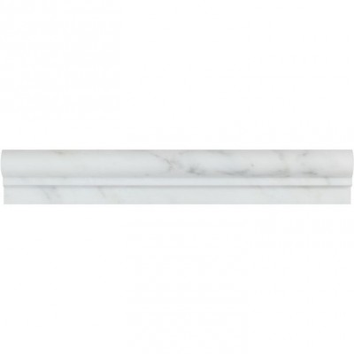 Oriental White Pencil 3/4X3/4X12 Polished