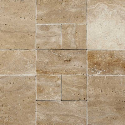 Palermo 16X24 Tumbled Travertine Paver