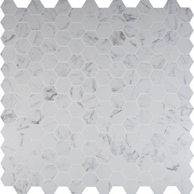 "Pietra Carrara 2"" Hexagon Matte"