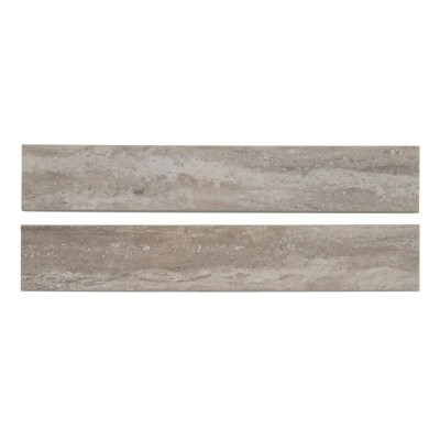 Pietra Venata Gray 3X18 Polished Bullnose