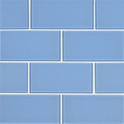 Royal Azure Glossy 3X6 Glass Subway Tile
