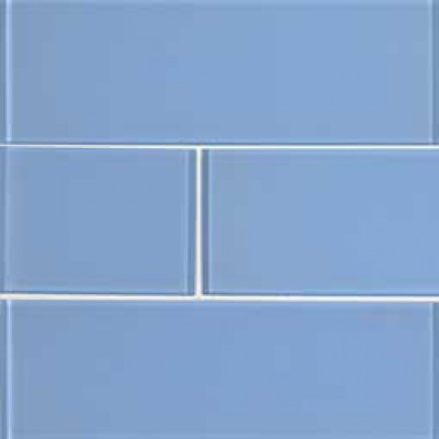 Royal Azure Glossy 4x12 Glass Subway Tile