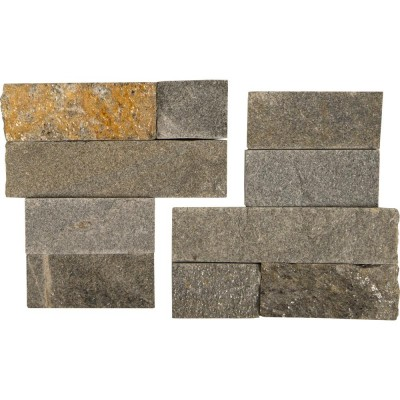 Sedona Multi 6X6 Split Face Corner Ledger Panel