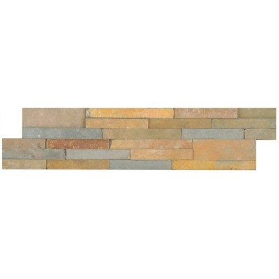 Sedona Vanilla 6X24 Split Face Ledger Panel