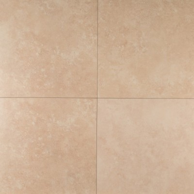 Travertino Beige 18X18 Matte Porcelain Tile
