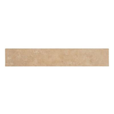 Travertino Beige 3X18 Matte  Tile