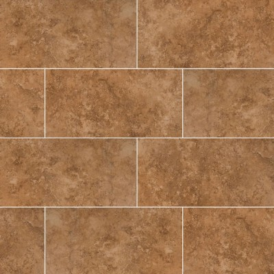Travertino Walnut 12X24 Matte Porcelain Tile