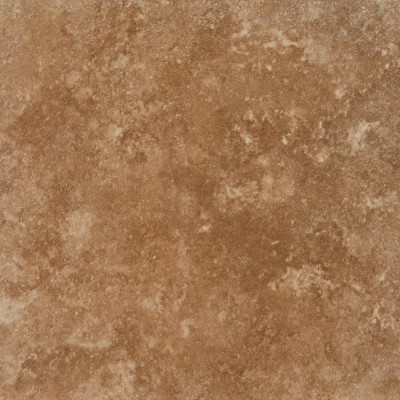 Travertino Walnut 18X18 Matte Porcelain Tile