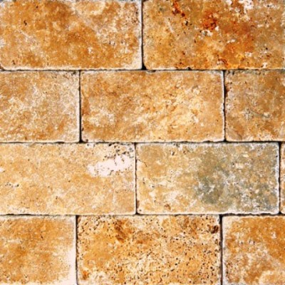 Tuscany Gold 3X6 Tumbled