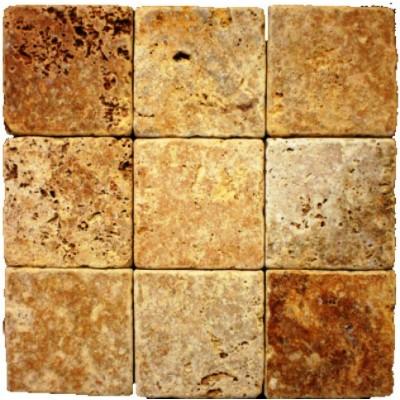 Tuscany Gold 4X4 Tumbled