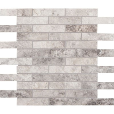 Tundra Gray 1x4 Polished Mosaic