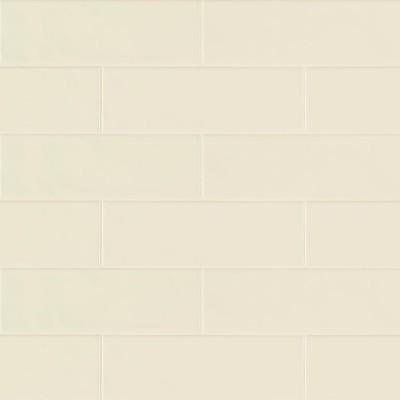 Urbano Crema 4x12 Glossy Ceramic Subway Tile