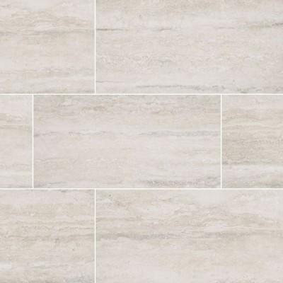 Veneto White 6X24 Glazed
