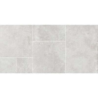 Versailles Terrace White Porcelain Pattern Tile