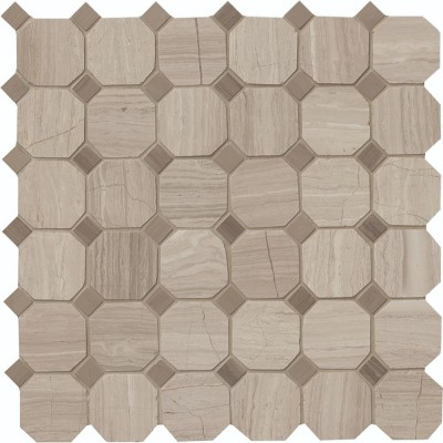 White Oak Octagon 12X12 Honed