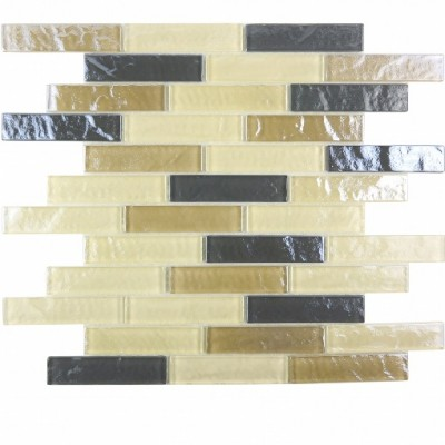 Geo Collection 1x4 Amazonia Tile Wide Linear