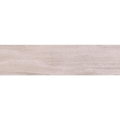 Wooden White 6x24 Honed Marble Tile