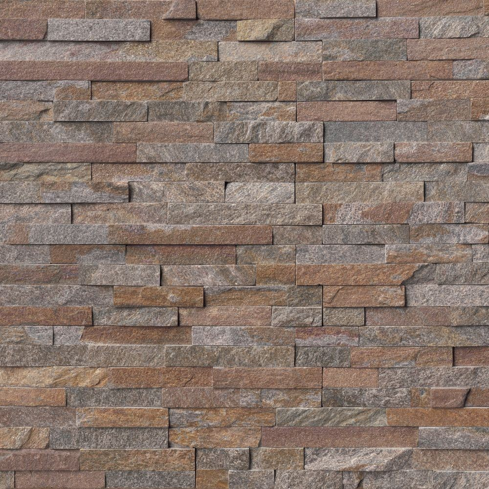 Amber Falls 6x24 Split Face Ledger Panel