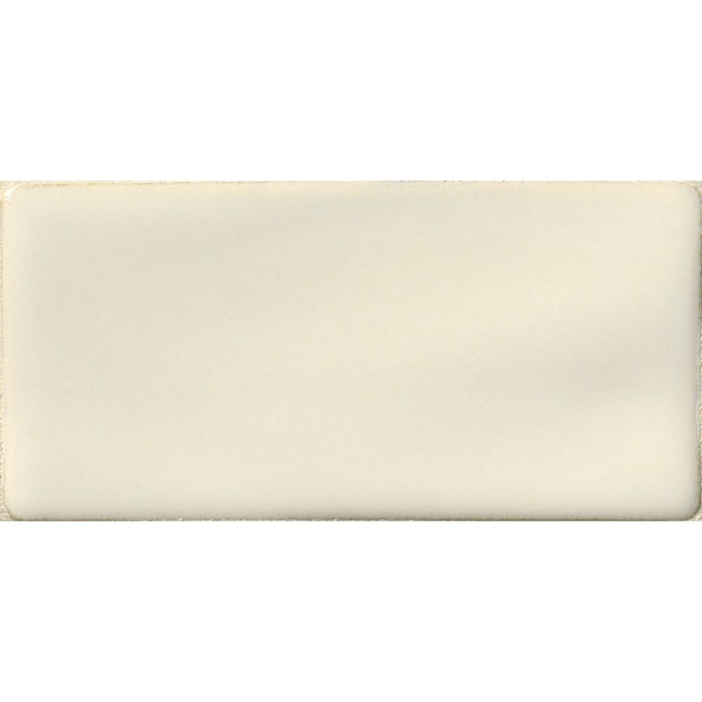 Antique White 3x6 Handcrafted Glossy Subway