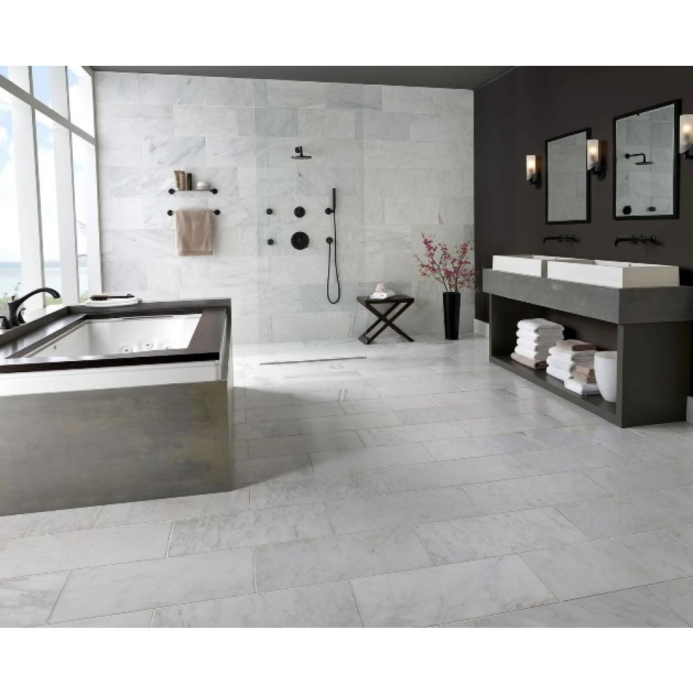 Arabescato Carrara Tumbled 4x4
