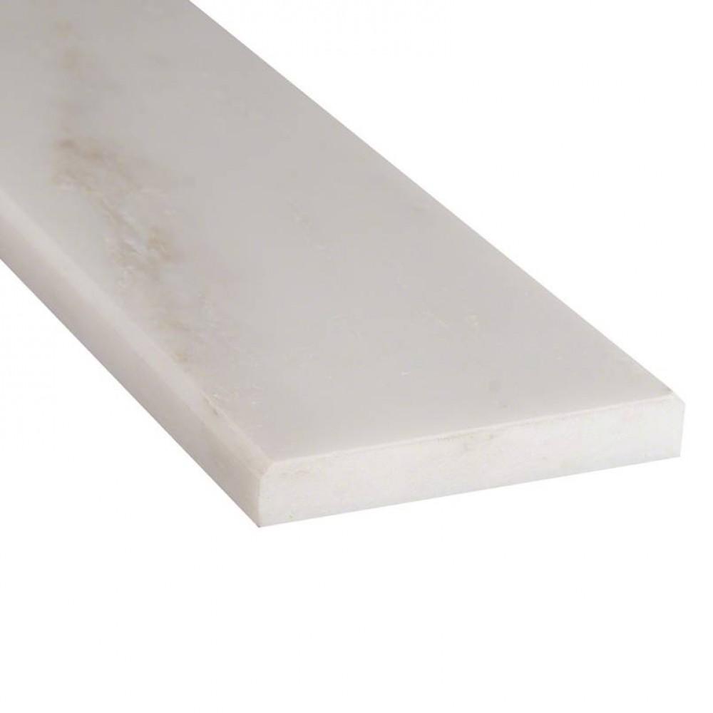 Arabescato Carrara 2X36 Polished Double Beveled Threshold