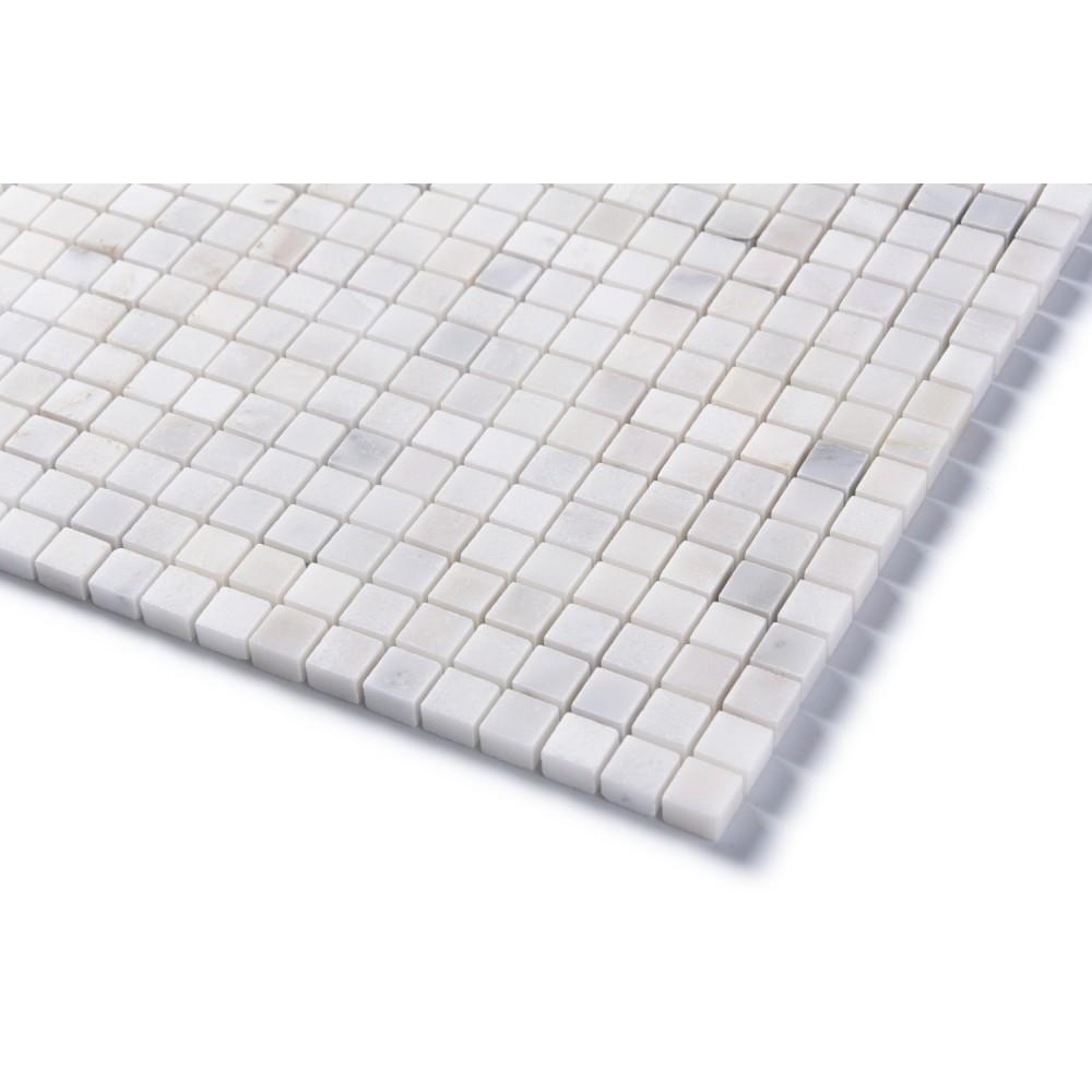Arabescato Carrara 5/8X5/8 Polished Mosaic