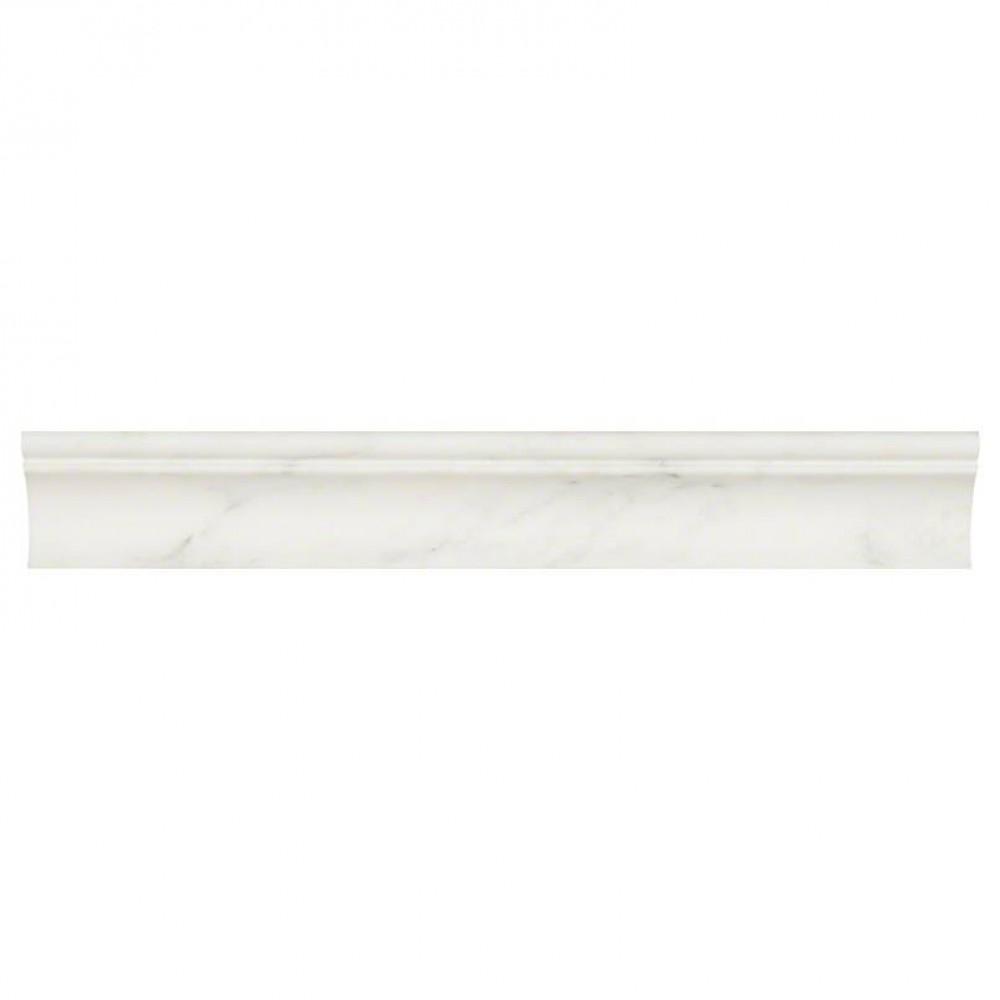 Arabescato Carrara Honed cornice Molding