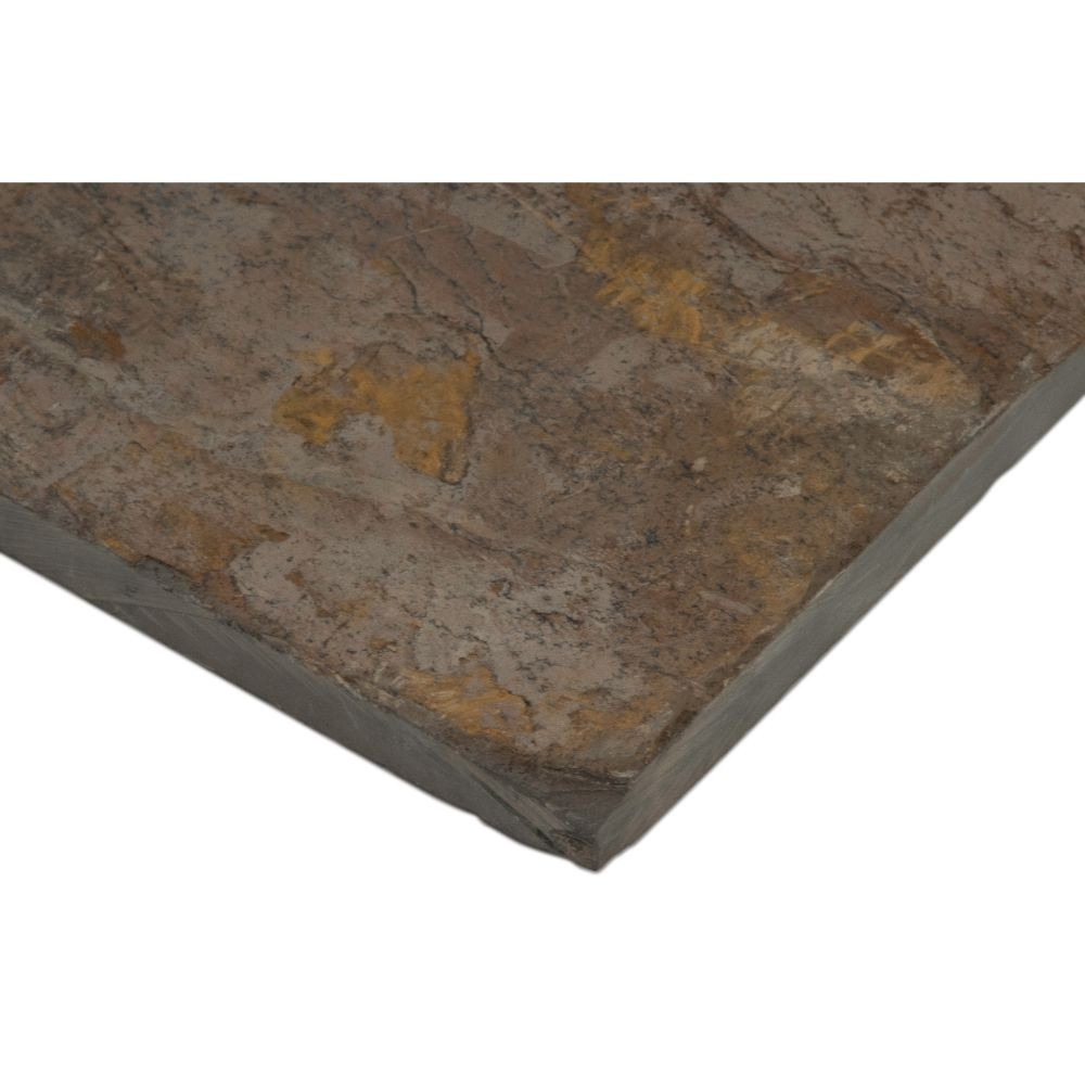 Autumn 12X12 Natural Cleft Slate Tile