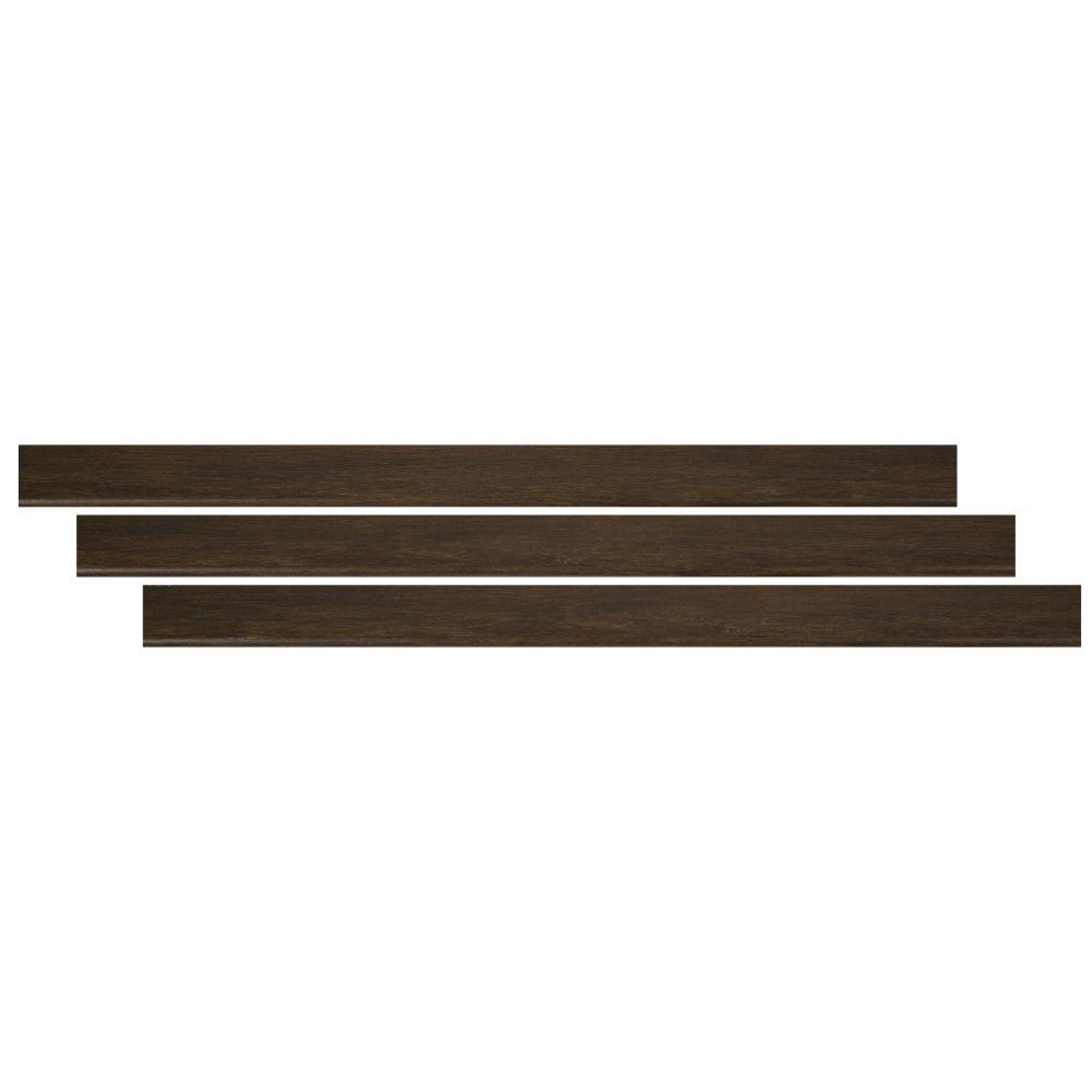 Barrell 2-3/4X94 Vinyl Flush Stair Nose