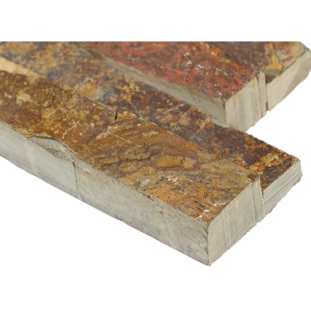 California Gold 6x24 Split Face Ledger Panel