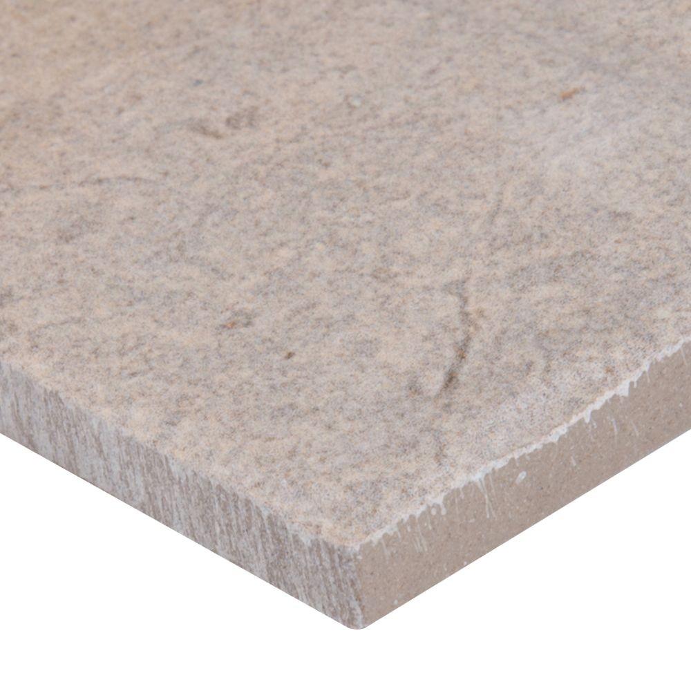 Capella Ivory 5X10 Brick Pattern Matte Porcelain Tile
