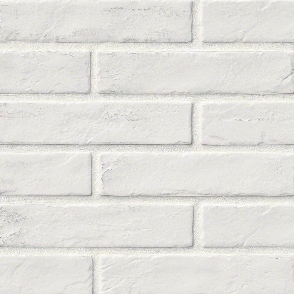 Capella White Brick 2X10 Matte