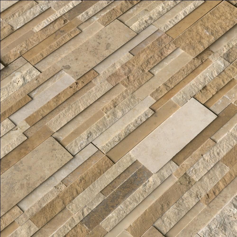Casa Blend 3D Multi Finish 6X12X6 Corner Ledger Panel