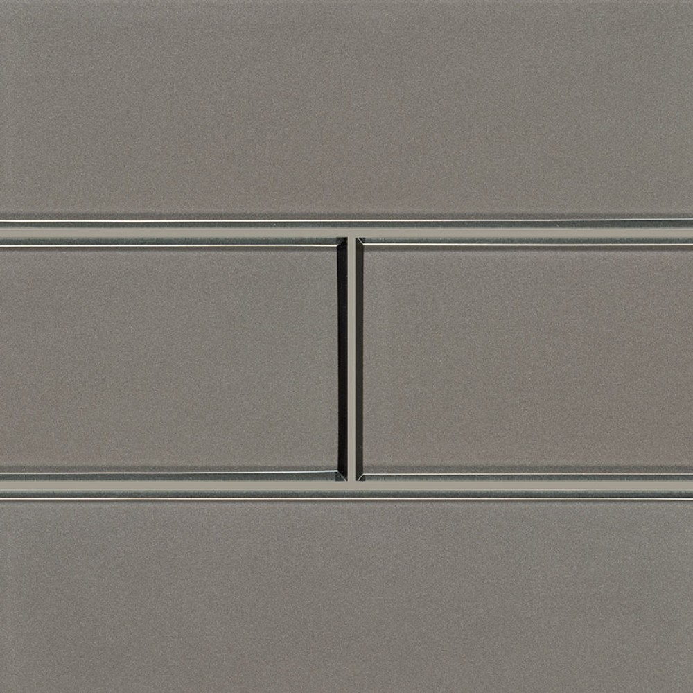 Champagne Brown 4x12 Bevel Glass Subway Tile