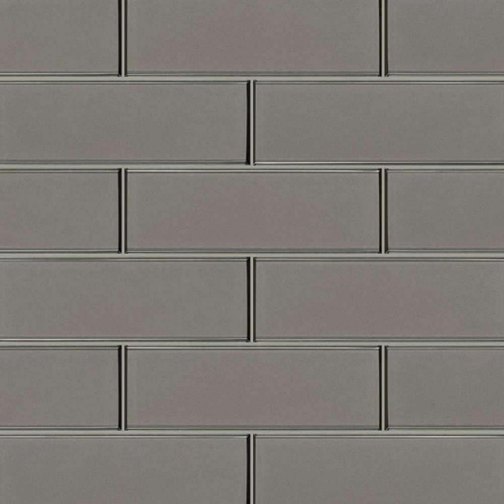 Champagne Brown 4x12 Bevel Glass Subway Tile Tilesbay Com