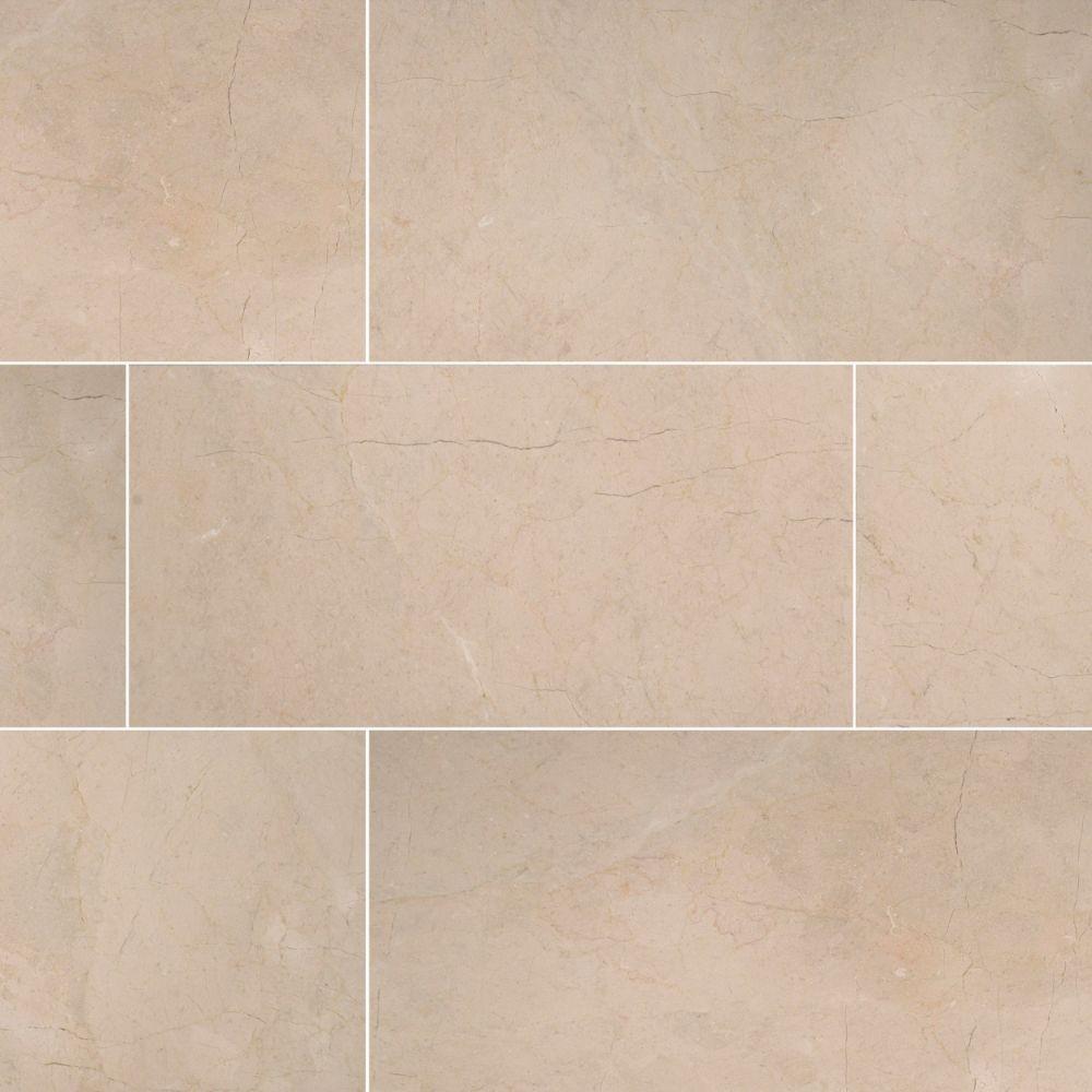 Crema Marfil Select 12X24X0.38 Polished