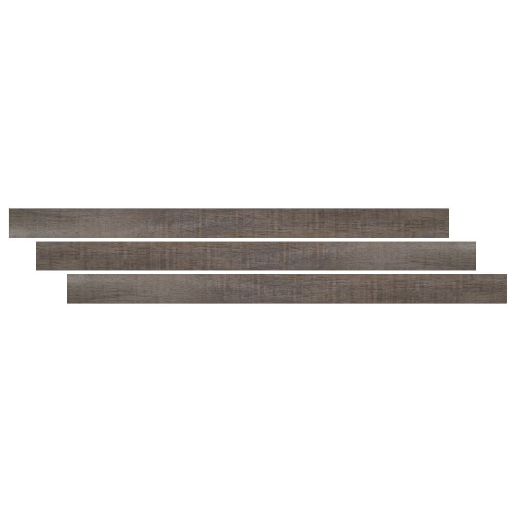 Cyrus Weathered Brina 1-3/4X94 Vinyl Overlapping Stair Nose