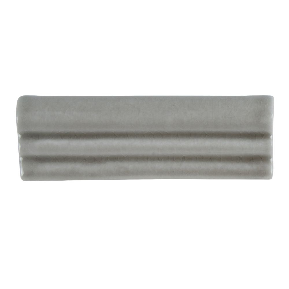 Dove Gray 2x6 Glossy Crown Molding