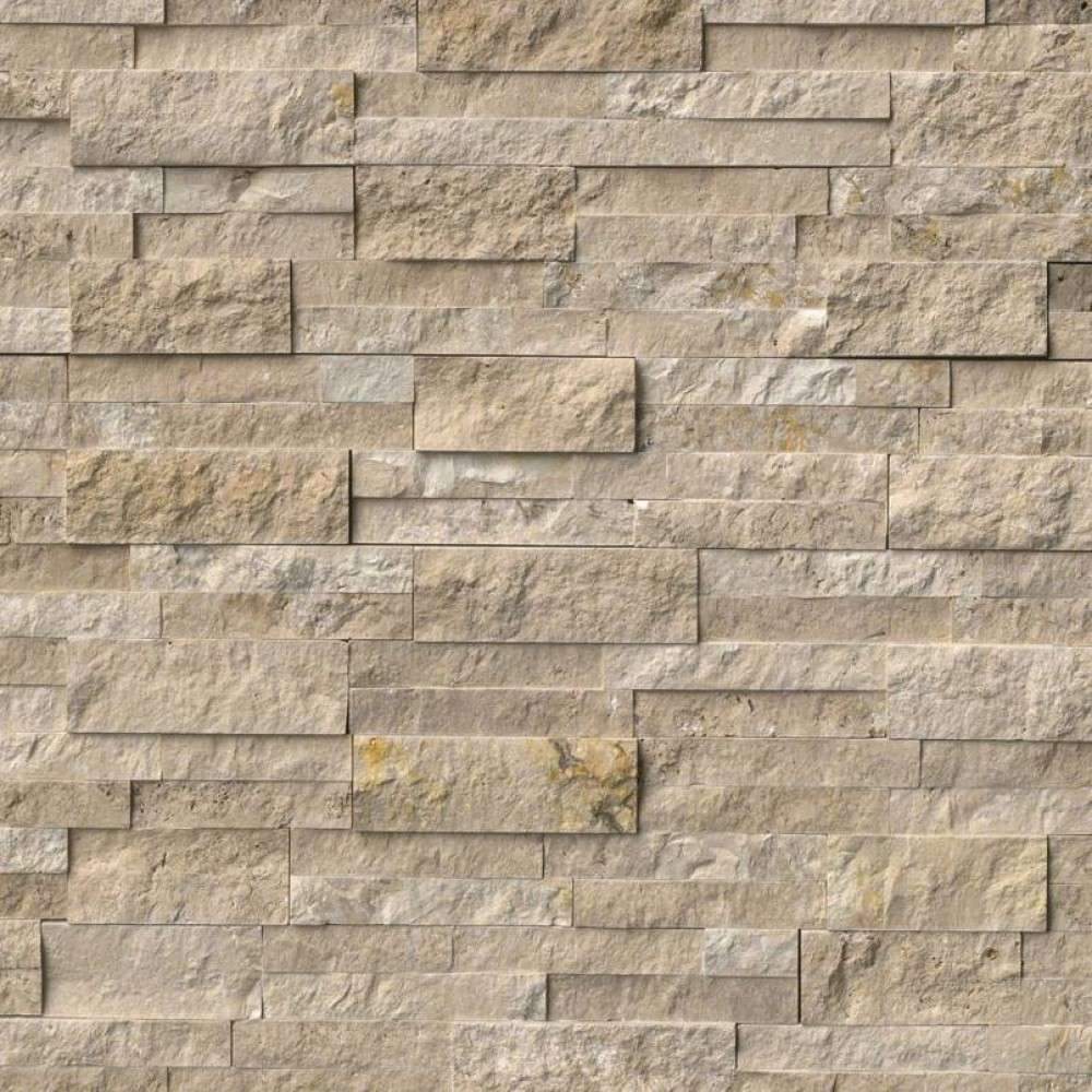 Durango Cream 6X24 Split Face Ledger Panel