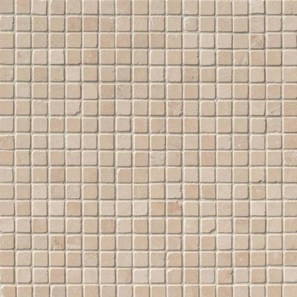 Durango Cream 5/8X5/8 Tumbled Travertine Mosaic